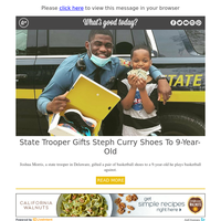 Feel Good Friday: State Trooper Gifts Shoes to 9-Year-Old
