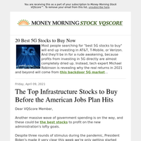 Biden's infrastructure overhaul could send these 3 stocks flying