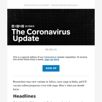 Coronavirus Update: Tracking variants, new hot spots, and more