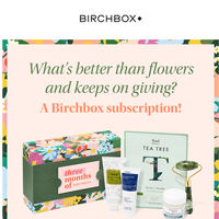 Flowers? For Mother's Day?