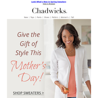 A Mother's Day Gift Idea ~ The Boyfriend Sweater ~ Shop Now