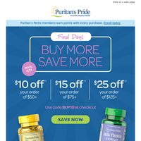Extra $25 off + SAVE up to 40%