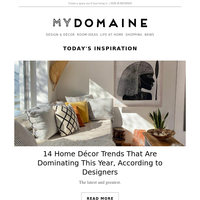 14 home décor trends that are dominating this year