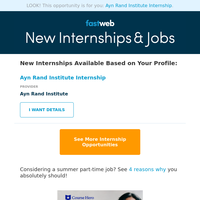 Now Accepting Applications: Summer Internship Opportunities