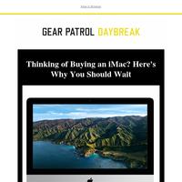 Don't Buy an iMac...Yet
