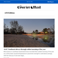 -0.4C as southeast endures coldest 2021 morning   Harry arrives without Meghan   PM under fire over jab