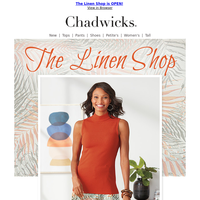 The Spring & Summer Collection of Linen Tops, Skirts & More ~ Just For YOU!