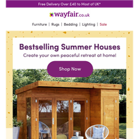 SUMMER HOUSES   Must-Haves!