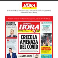 Crece la amenaza del COVID | Del 11 de marzo a la fecha las cifras de contagios de coronavirus en Puerto Rico se han quintuplicado, mientras que las hospitalizaciones se han triplicado