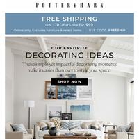 3 easy summer decor ideas