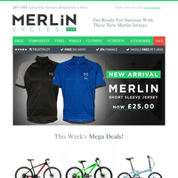 Get Ready For Summer With These New Merlin Jerseys👕🚲