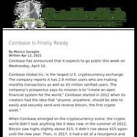Coinbase Is Finally Ready...