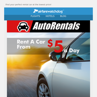 Limited Time Remaining - Summer Car Rental Deals Selling Out Quickly