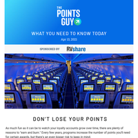 ✈ Big AA and United Flight Upgrades, Avoid Having Your Points Expire & More Daily News From TPG ✈
