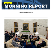 The Hill's Morning Report - Presented by Tax March - 1/ Republicans in Biden infrastructure meeting advise smaller package. 2/ Protests, arrests in Minnesota overnight following Daunte Wright's police killing, Biden's call for calm. 3/ US inks a
