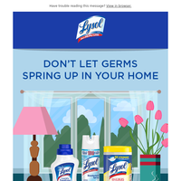 Spring into a new kind of clean.