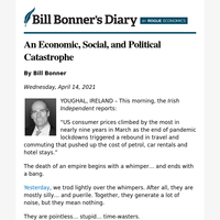 An economic, social, and political catastrophe