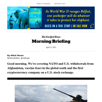 Your Thursday Briefing