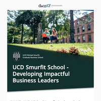 {NAME}, study at Ireland's Leading Business School!