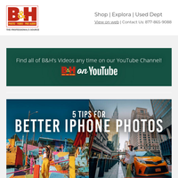 Smartphone Photography, Podcasting, & More Expert Tips