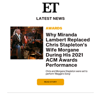 Why Miranda Lambert replaced Chris Stapleton's wife at the ACM Awards