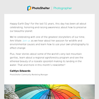 Earth Day: Making a difference with your photos