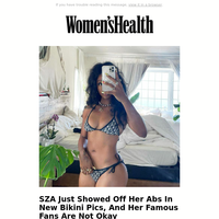 SZA Just Showed Off Her Abs In New Bikini Pics, And Her Famous Fans Are Not Okay