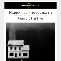 Narrative Photography + Signed Patty Carroll Books + Michael Kenna: Il Fiume Po (The River Po)
