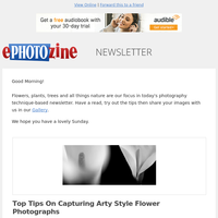 12 Top Flower, Tree and Nature Themed Photography Tutorials