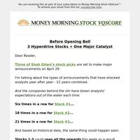 Three-part stock pick reveal: Happening soon