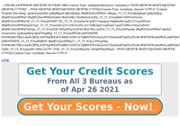 Credit Fitness Tips for 2021