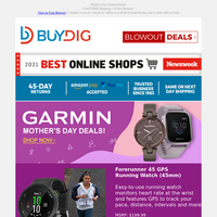 🏃🏿♀️ Garmin Fitness Gifts and More for Mom ❤️