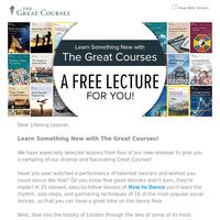 Learn Something New with 4 FREE Lectures