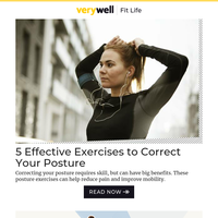 5 Effective Exercises to Correct Your Posture