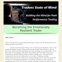 Mental Self Mastery in Trading