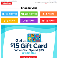 Last chance to earn a $15 gift card!