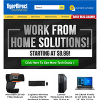 Work From Home Solutions From Just $8!