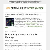 Trade this week's earnings without losing your shirt