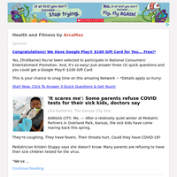 Health and Fitness for Saturday May 1, 2021