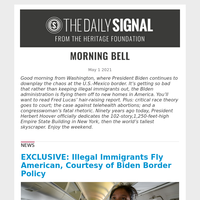 EXCLUSIVE: Illegal Immigrants Fly American, Courtesy of Biden Border Policy