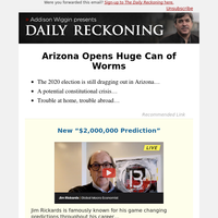 Arizona Opens Huge Can of Worms