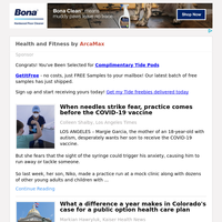 Health and Fitness for Sunday May 2, 2021
