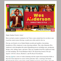 ☕ Coffee & Content: The Wes Anderson Aesthetic & The Psychology of Character Relationships