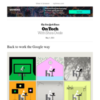 On Tech: Back to work the Google way