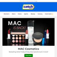 Just in: MAC beauty & boots for autumn & winter!