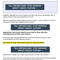 (sign now!) re: Cry Baby Republicans