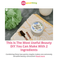This Is The Most Useful Beauty DIY You Can Make With 2 Ingredients
