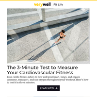 The 3-Minute Test to Measure Your Cardiovascular Fitness