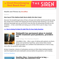 Health and Fitness for Tuesday May 4, 2021