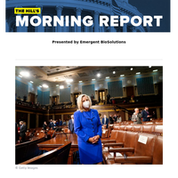 The Hill's Morning Report - Presented by Emergent BioSolutions - 1/ Rep. Cheney on borrowed time among Trump-backing GOP colleagues. 2/ McConnell: Biden $4 trillion plan will get 'zero' GOP votes. 3/ Look who's visiting New Hampshire in June (